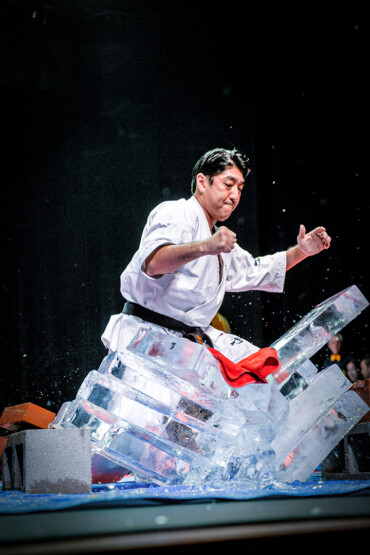 Shihan Takashi Hasegawa Ice-Breaking