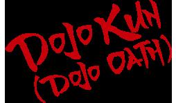 DOJO KUN (dojo oath)