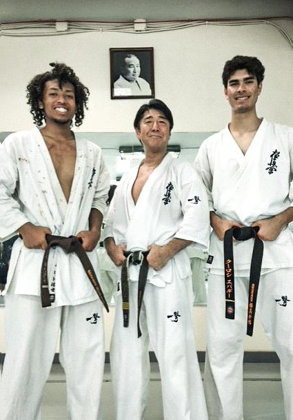 Takashi Hasegawa, Koorosh Evagee, Monet Garrett