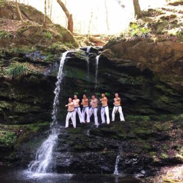 As spiritual karate training